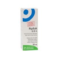 HYABAK - SOLUCION HIDRATANTE LENTES DE CONTACTO (10 ML)